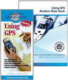 Using GPS course and student manual book covers