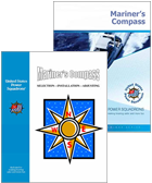 Mariner's Compass Seminar book covers with compass rose