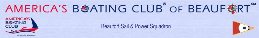 Welcome to the Beaufort Sail & Power Squadron